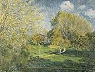 The Garden of Ernest Hoschede at Montgeron 1881 - Pierre Auguste Renoir