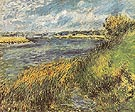 Banks of the Seine at Champrosay 1876 - Pierre Auguste Renoir