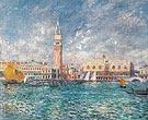 Doges Palace Venice 1881 - Pierre Auguste Renoir