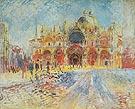 St Marks Square Venice 1881 - Pierre Auguste Renoir