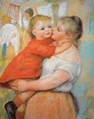 Aline and Pierre 1887 - Pierre Auguste Renoir
