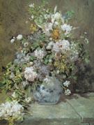 Spring Bouquet 1866 - Pierre Auguste Renoir