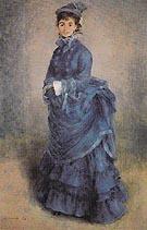 La Parisienne 1874 - Pierre Auguste Renoir