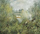 On the Seine near Argenteuil c1874 - Pierre Auguste Renoir