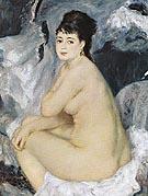 Female Nude c1876 - Pierre Auguste Renoir