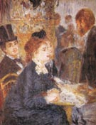 The Cafe c1876 - Pierre Auguste Renoir