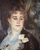 Portrait of Madame Charpentier c1876 - Pierre Auguste Renoir
