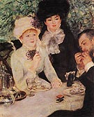 The End of the Lunch 1879 - Pierre Auguste Renoir