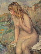 Seated Nude 1892 - Pierre Auguste Renoir