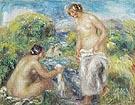 Nude Figures in a Landscape c1910 - Pierre Auguste Renoir