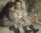 The Children of Martial Caillebotte 1895 - Pierre Auguste Renoir