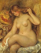 Blonde Bather c1903 - Pierre Auguste Renoir