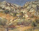 Rocks at L Estaque 1882 - Pierre Auguste Renoir