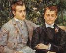 Charles snd Georges Durand Ruel 1882 - Pierre Auguste Renoir
