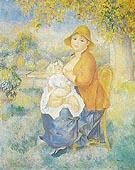 Maternity 1886 - Pierre Auguste Renoir