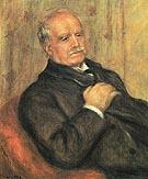 Portrait of Dueand Ruel 1910 - Pierre Auguste Renoir