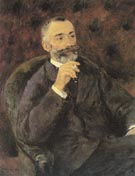 Portrait of Paul Berard 1880 - Pierre Auguste Renoir