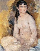 Seated Nude 1880 - Pierre Auguste Renoir