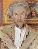 Portrait of Victor Chocquet c1875 - Pierre Auguste Renoir