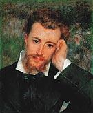Portrait of Eugene Murer 1877 - Pierre Auguste Renoir
