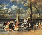 Return from a Boat Outing c1862 - Pierre Auguste Renoir