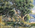 Landscape on the Coast near Menton 1883 - Pierre Auguste Renoir