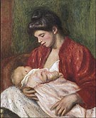 The Young Mother 1898 - Pierre Auguste Renoir