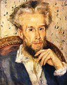 Portrait of Victor Chocquet c1876 - Pierre Auguste Renoir