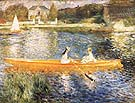 The Skiff c1879 - Pierre Auguste Renoir