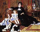 Madame Charpentier and Her Children 1878 - Pierre Auguste Renoir