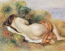 Reclining Nude 1890 - Pierre Auguste Renoir