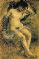 Nude 1872 - Pierre Auguste Renoir