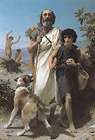 Homer and His Guide 1874 - William Bouguereau