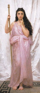 Young Priestess 1902 - William Bouguereau