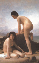 The Bathers 1884 - William Bouguereau