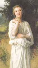 Girl 1895 - William Bouguereau
