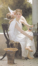 Work Interrupted 1891 - William Bouguereau