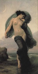 Evening Mood 1882 - William Bouguereau