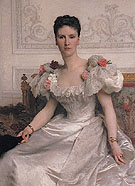 Portrait of Madame la Comtesse de Cambaceres 1895 - William Bouguereau