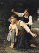 Dans le bois In the Woods 1889 - William Bouguereau