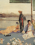Variations in Flesh and Green The Balcony 1865 - James McNeil Whistler