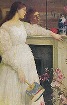 Symphony in White No 2 The Little White Girl 1864 - James McNeil Whistler