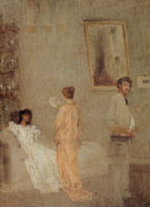 Whistler in his Studio 1865 - James McNeil Whistler