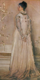 Symphony in Flesh Color and Pink Portrait of Mrs Frances Leyland c1871 - James McNeil Whistler