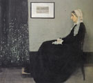 Arrangement in Grey and Black Portrait of the Painters Mother 1871 - James McNeil Whistler