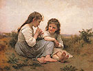 Childhood Idyll 1900 - Adolphe-William Bouguereau