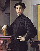 Portrait of a Young Man 1540 - Agnolo Bronzino