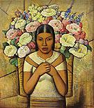 Vendedora de Flores - Alfredo Ramos Martinez