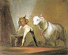 Pasiphae and the Bull 1998 - Ansel Krut