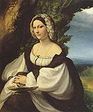 Portrait of a Lady 1519 - Antonio Allegri da Correggio